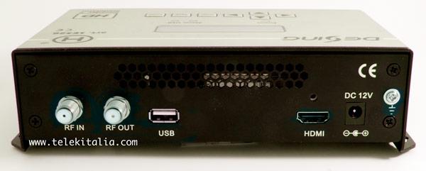 Modulatore digitale HD - connessioni