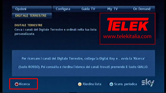 Sky Digital Key - Ricerca