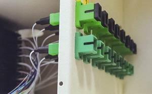 Impianto in fibra ottica multiservizio