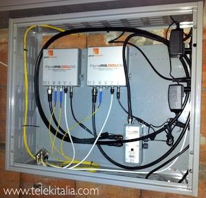 Trasmettitore ottico per impianto tv fibra ottica condominiale