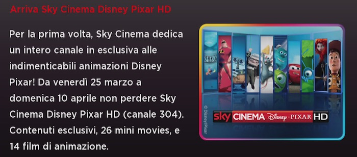 Sky Cinema Disney Pixar HD