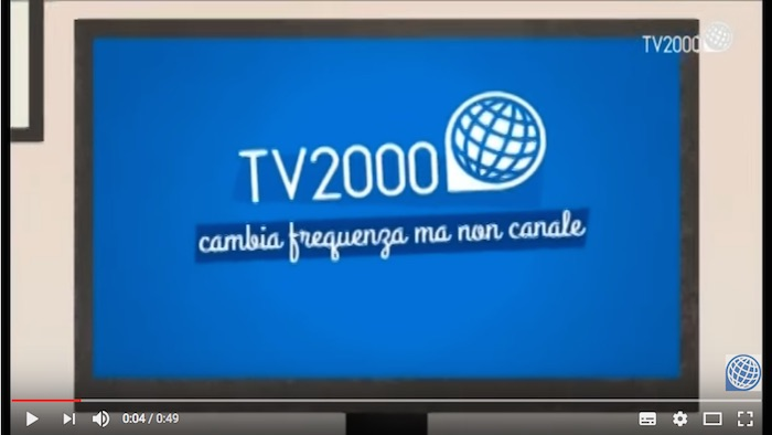 TV2000 cambia frequenza - Tutorial risintonizza
