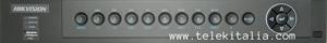 DVR ibrido per videosorveglianza HD - Pannello frontale