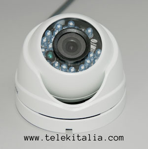 Telecamera Mini-Dome Day & Night FullHD