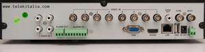 DVR Kapta - 8 telecamere analogiche - Retro