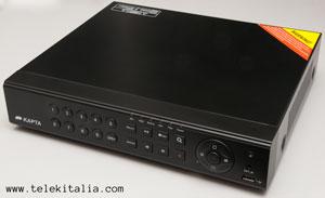 DVR Kapta - 8 telecamere analogiche