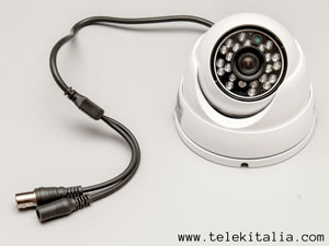 Telecamera minidome Day & Night 700TVL